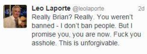 Leo Laporte's conciliatory message