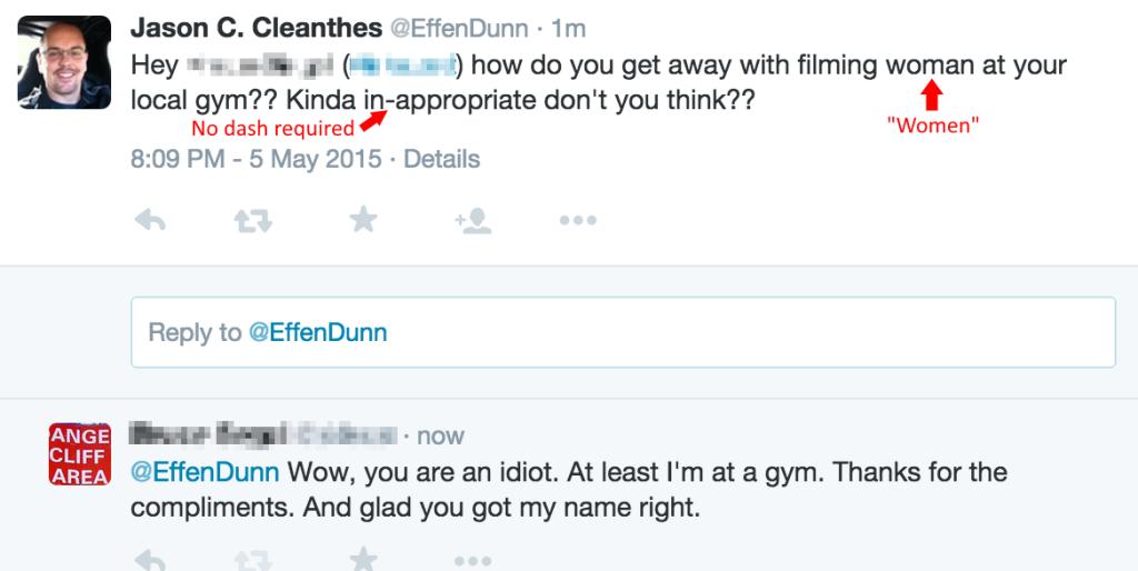 EffenDumb Twitter Harassment