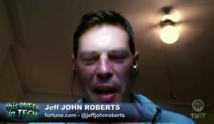 Yikes, Jeff John Roberts looks like shit.