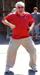 Dance, you glorious monkey.