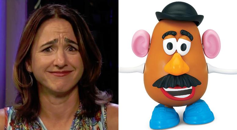 Megan Morrone Mr. Potato Head