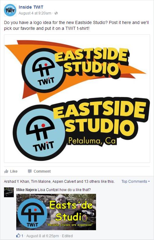 Total Drama Eastside Studio Logo on the Inside TWiT Facebook Page